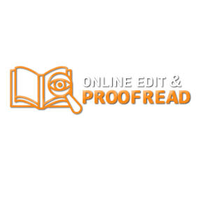 online edit & proofread logo